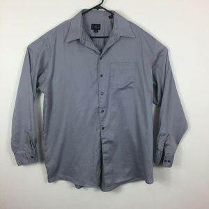 Kenneth Cole Reaction Classic Mens Button Shirt XL